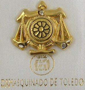 Daily Horoscope Libra Zodiac Pin / Tie Tack